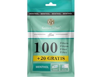Golden Filter Menthol Slim 100+20